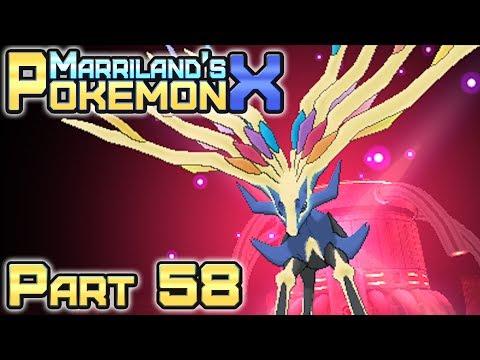 Pokémon X, Part 58: Xerneas the Legendary Pokémon!
