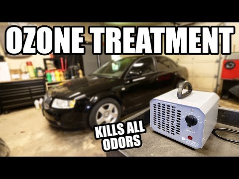 How to Remove ALL ODORS with an Ozone Machine