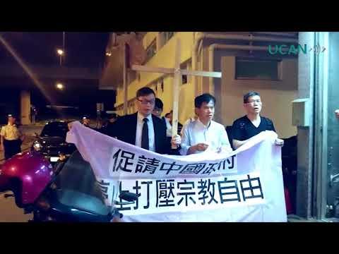 Hong Kong prayer on China