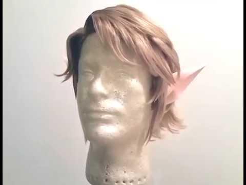 Legend of Zelda- Twilight Princess' Link Wig WIP