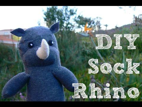 DIY Sock Rhino | LDP