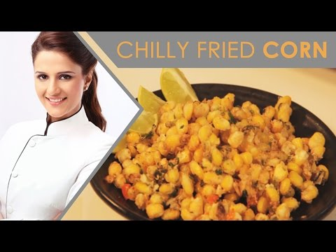 Chilly Fried Corn | Quick and Easy recipe |Shipra Khanna