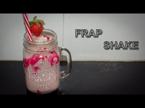 Strawberry Oreo frap shake