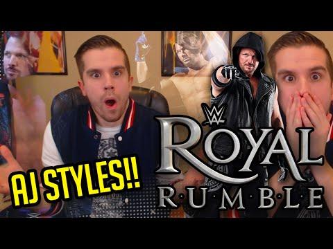 WWE ROYAL RUMBLE 2016 REVIEW & RESULTS!! AJ STYLES DEBUTS!!