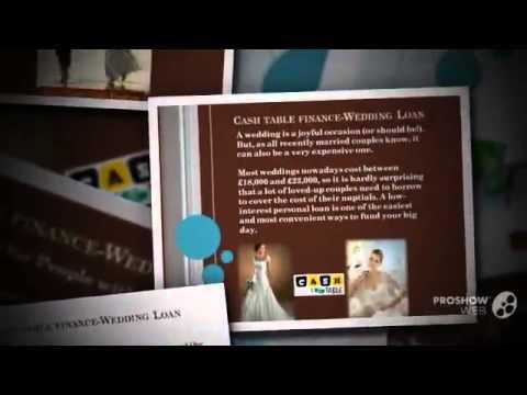 Cash Table Finance-Wedding Loan Lenders