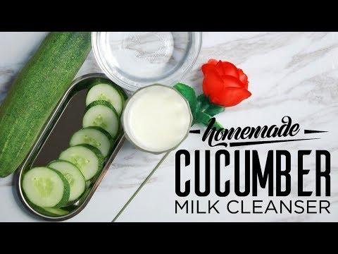 Skin Care: DIY Homemade Cucumber Milk Cleanser 🍼🍼