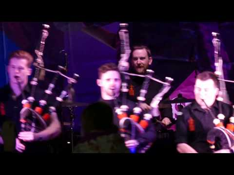 Red Hot Chilli Pipers, Stirling, (part 1)
