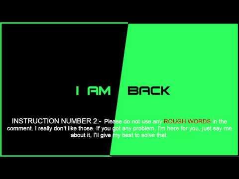 I AM BACK!!!