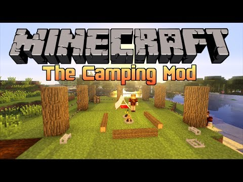 Minecraft - The Camping Mod | Tents, Campfires & More!