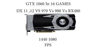 GTX 1060 Vs AMD RX 480 Vs GTX 970 Vs GTX 780 TI Vs AMD Fury