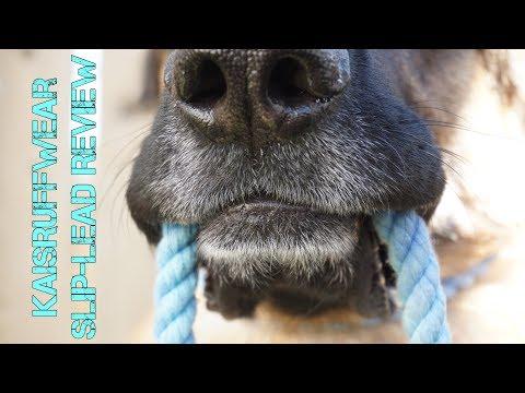 Review: KaisRuffWear Slip-Lead Hand-Dyed Rope Dog Leash