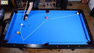 Trickshots for beginners #1 - 台球 - Pool Trick Shot & Artistic Billiard training lesson