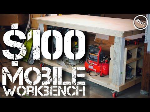 MOBILE WORKBENCH UNDER $100