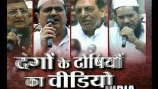 Muzaffarnagar Riots: India TV airs video of political leaders giving provocative speech