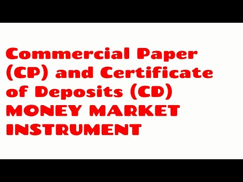CP and CD MONEY MARKET INSTRUMENT JAIIB CAIIB BANK PROMOTION LECTURE VIDEO