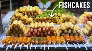 Download Korean Street Food in Myeongdong during Summer & Fall Video