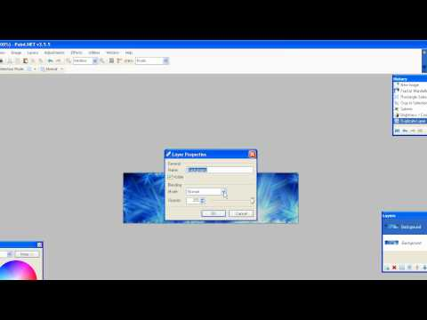 Paint.NET Tutorial: How to make a
