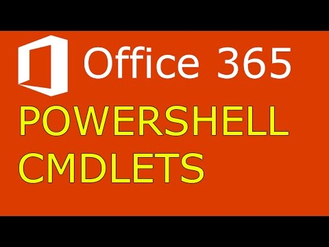 Office 365 Basic Powershell Cmdlets Azure Active Directory Module