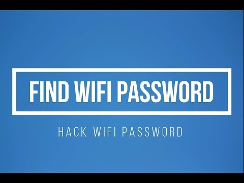 How to find wifi password or Hack WIFI Password Command Prompt