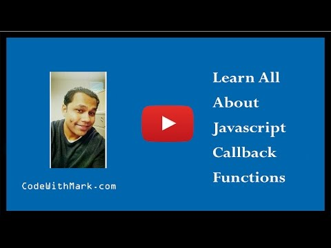 Easily learn how to use javascript callback functions like a pro