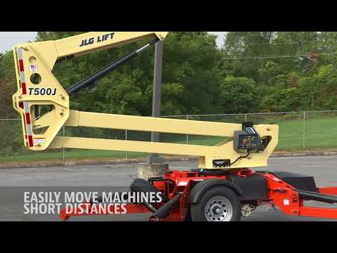 JLG® Tow-Pro® Drive and Set Option: Do It All from the Platform
