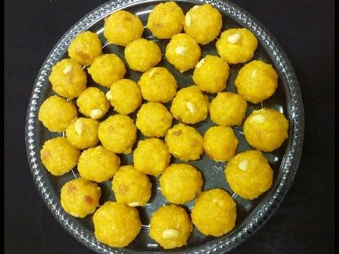 How to make laddu kerala style/boondi ladoo