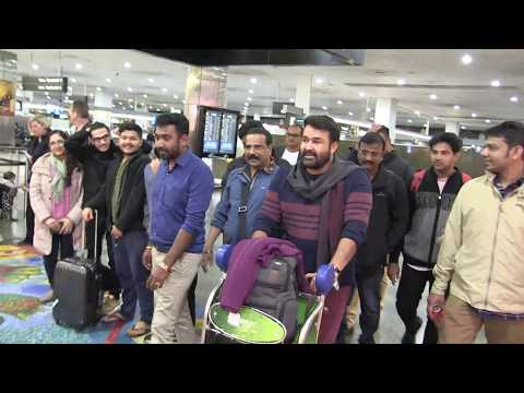 'Indian star MOHANLAL gives female fan a night to remember in Australia' 12/6/18