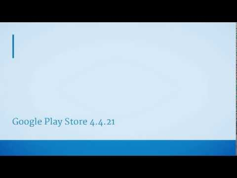 Google Play Store 4.4.21 [With Download Link] Review - (Unreleased) [Brand New UI]