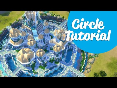 Sims 4 Tutorial | Building Circles