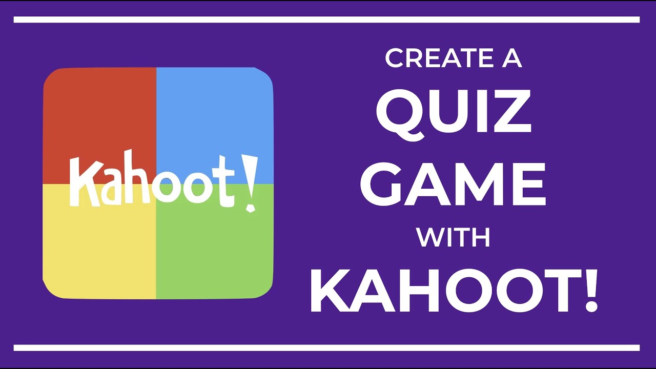 Create a Quiz Game with Kahoot