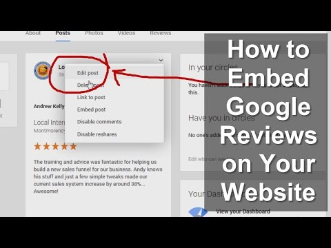 Google Local - How to embed Google reviews the right way