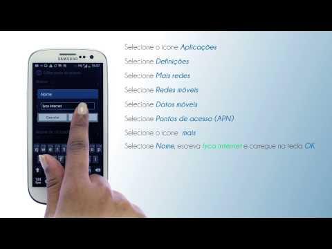 Lycamobile Portugal - Como configurar internet no Samsung