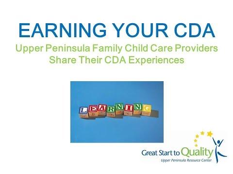 Earn Your CDA