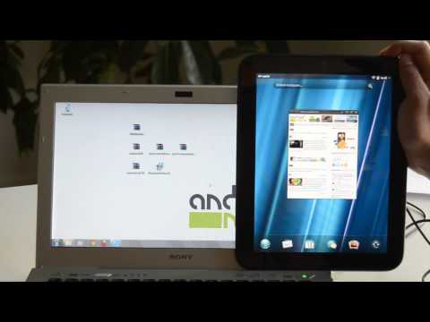 HP Touchpad: Install Android / CyanogenMod 7.1 How-To Tutorial - androidnext.de