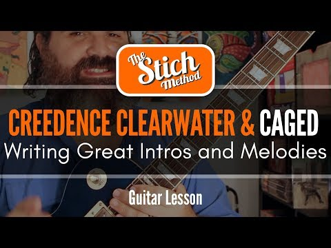 Quick Tips With Stich: CAGED Melodies with Creedence Clearwater Revival
