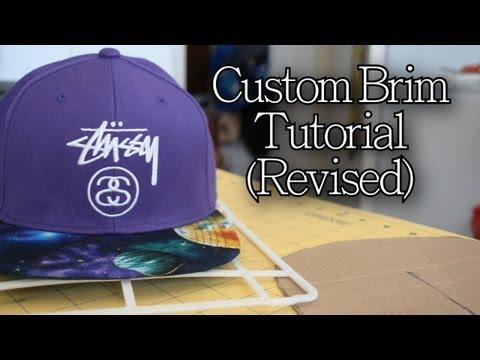 DIY: How to Customize Your Brim   Customize Yo Hat #6