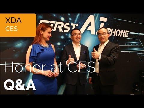 Honor CES 2018 Q&A