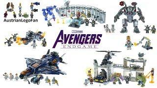 Download Lego Avengers Endgame - Compilation of all Sets Video