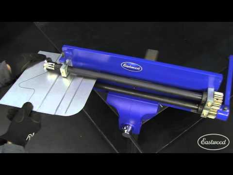 How To Use a Bead Roller with Offset Tipping Dies - Sheet Metal Fab at Eastwood