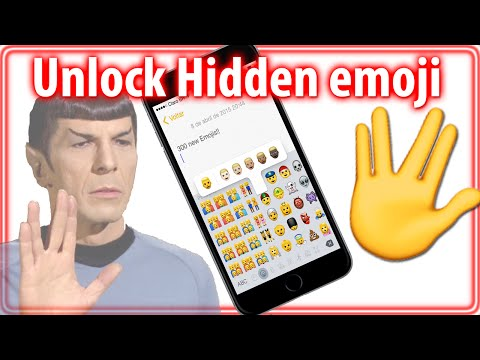 How To Get Hidden Spock emoji (Vulcan Salute) - iPhone, iPad, iPod Touch iOS 8.3