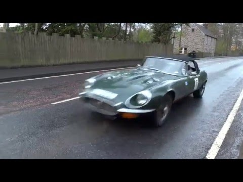 Scottish Malts 2016 Classic Car Rally Tour Perthshire Scotland