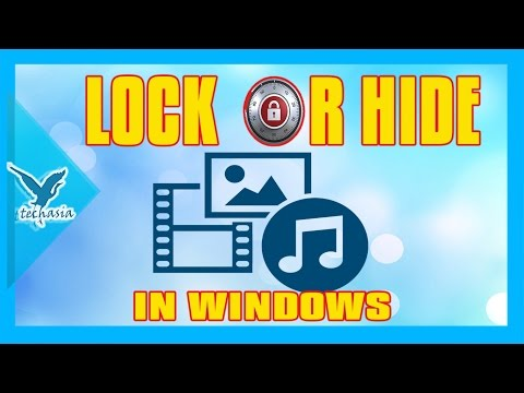 How to lock any file or folder in windows xp,7,8,10