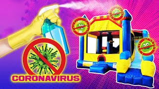 How to Prevent Coronavirus (Covid-19) | Proper sanitation for Bounce House Party Rentals