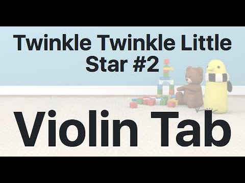 Learn Twinkle Twinkle Little Star #2 on Violin - How to Play Tutorial