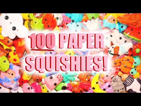 BIGGEST PAPER SQUISHY COLLECTION EVER!!