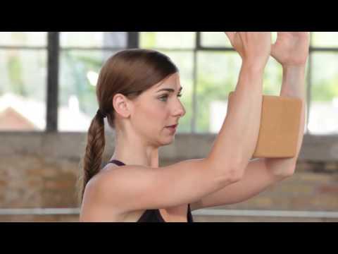 Shoulder Opener | Yoga Pose with Block