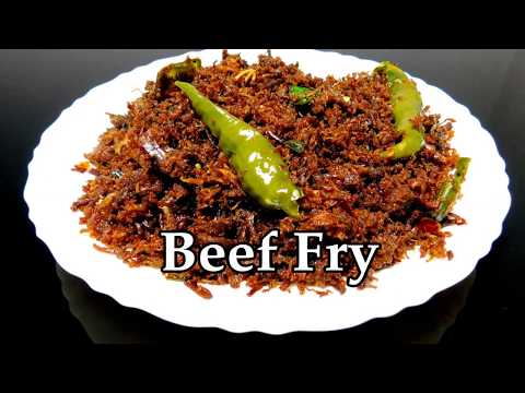 Beef Chathachu Ularthiyathu   Beef Dry Fry Kerala Style Recipe   ബീഫ് ചതച്ച്  ഉലർത്തിയത്   ബീഫ് ഫ്രൈ