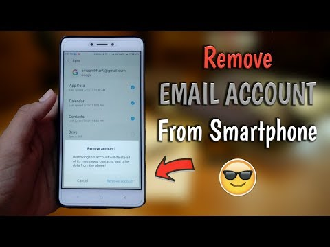 How to Remove Email Account from any Android smartphone || in Hindi || MAK TECH