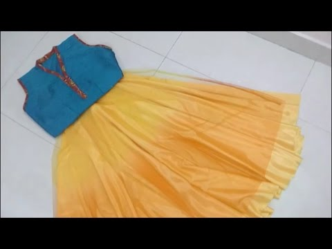 5 Easy Types of Skirts : Cut Umbrella / Gathered / A line / Peplum / Layered frilled Anarkali Lehnga