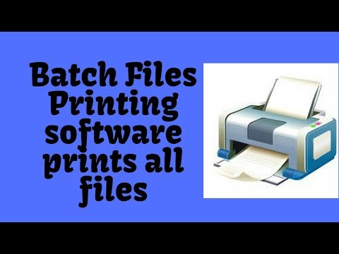 Want to Print Multiple Jobs in One Click Follow 8 Easy Steps